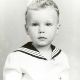 Ted Turner as a child